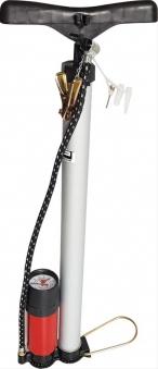 Handluftpumpe Alu mit Manometer, 7 bar Bild 1