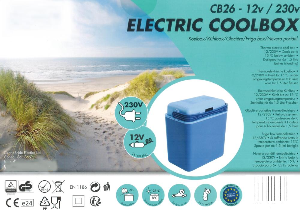 Kühlbox Mini Kühlschrank für PKW / LKW elektro 32L 12 / 230V Bild 5