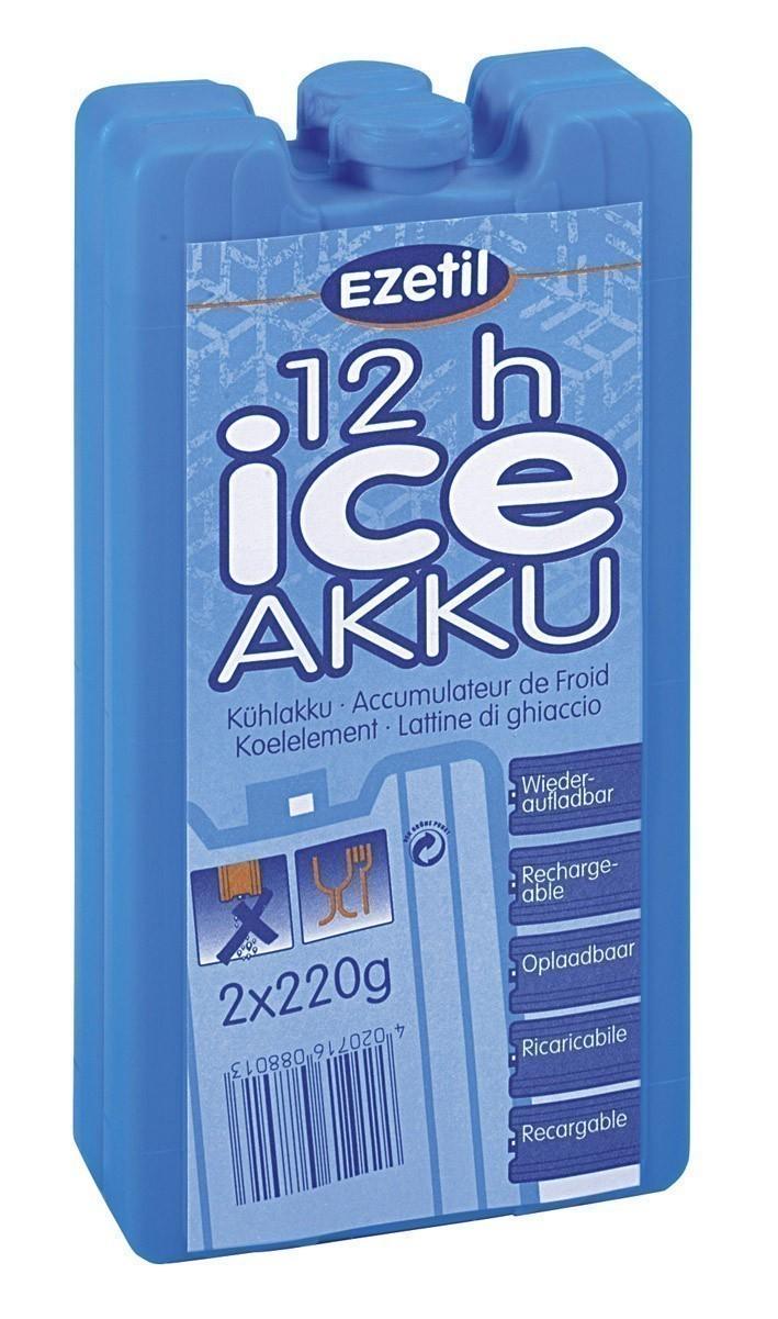 Kühlelement / Kühlakku EZetil blau 2x 220g Bild 1