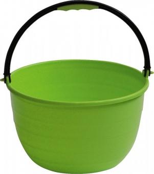 Mehrzweckeimer / Eimer mit Henkel Brunner Ø35 cm 15 Liter grün Bild 1