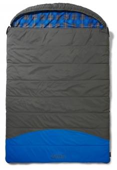 Schlafsack Deckenschlafsack Coleman Basalt Double 225x150cm grau/blau Bild 1