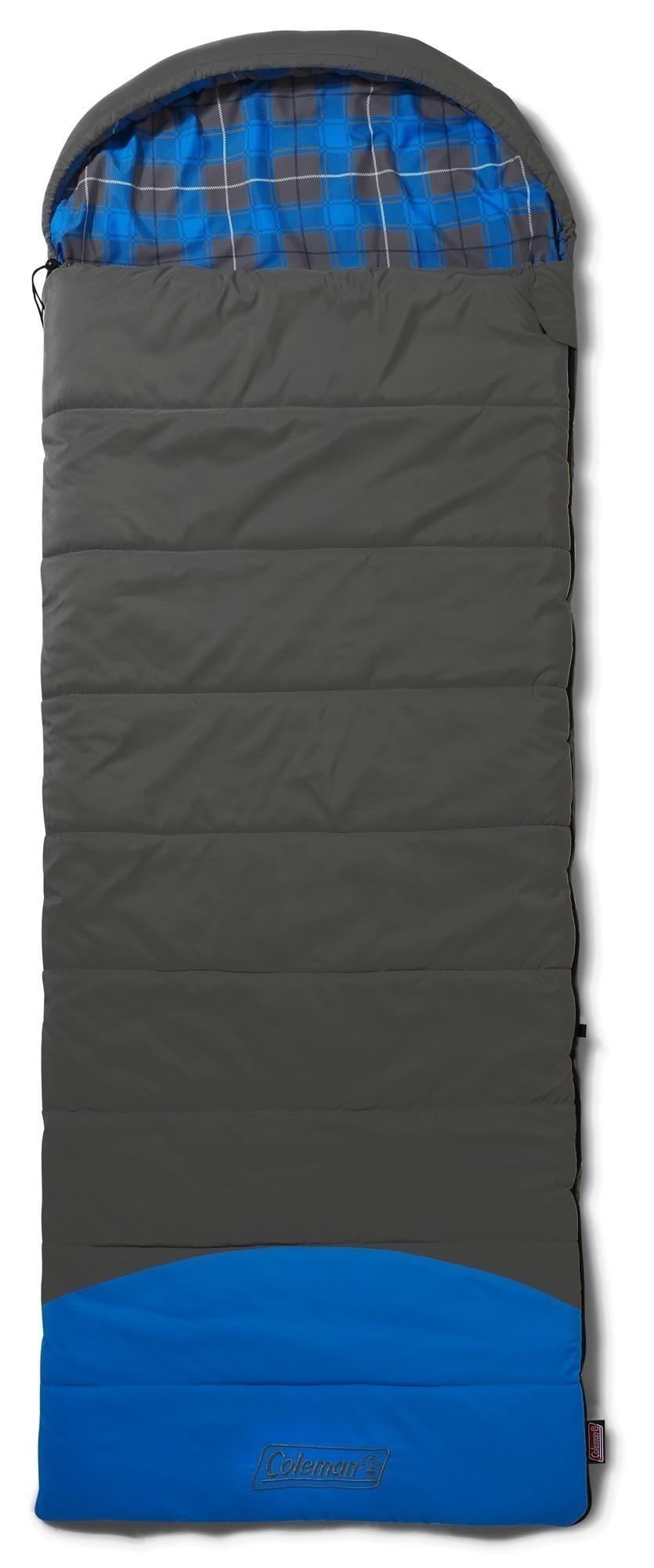 Schlafsack / Deckenschlafsack Coleman Basalt Single 225x80cm grau/blau Bild 1