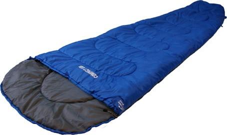 Schlafsack Explorer Compact 800 225x80x50cm blau/schwarz Bild 1