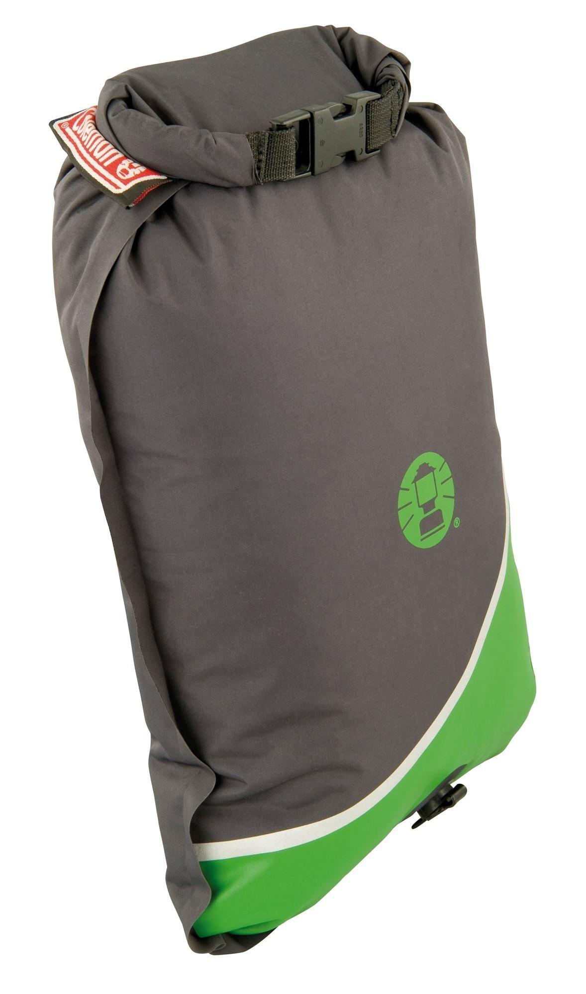 Schlafsack / Mumienschlafsack Coleman Biker 220x80x55cm grau/grün Bild 2