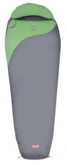 Schlafsack / Mumienschlafsack Coleman Biker 220x80x55cm grau/grün Bild 1