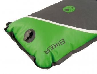 Schlafsack / Mumienschlafsack Coleman Biker 220x80x55cm grau/grün Bild 3