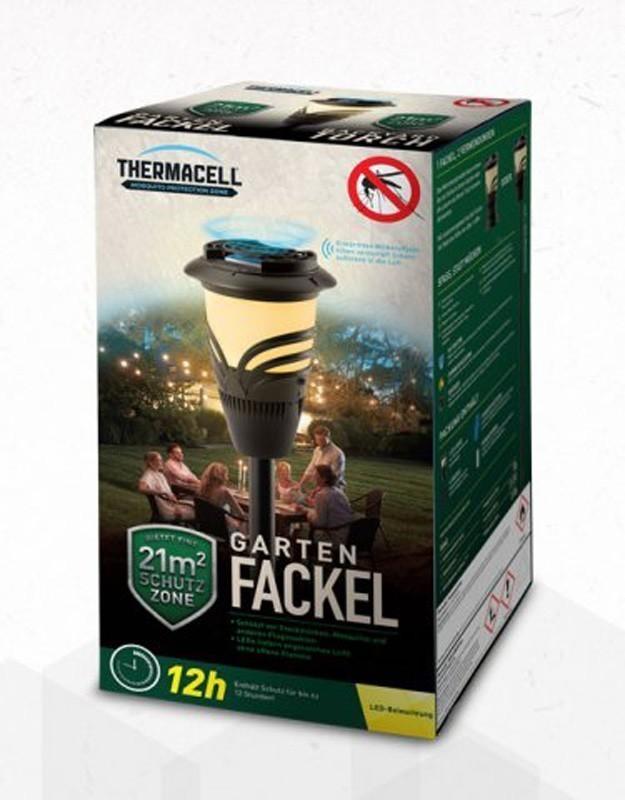 ThermaCell Garten Laterne / Gartenfackel mit Insektenschutz Bild 4