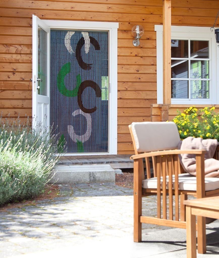 vorhang deko vorhang circle bambusst bchen l nge 200cm bei. Black Bedroom Furniture Sets. Home Design Ideas