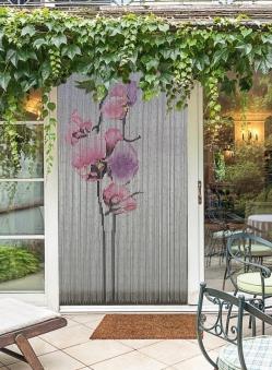 Vorhang / Deko Vorhang Conacord Orchidee Bambusstäbchen Länge 200cm Bild 1