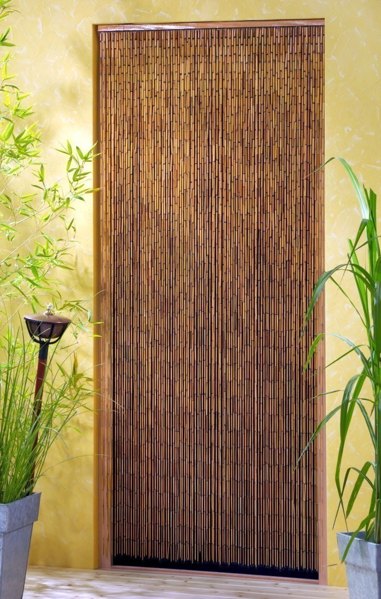 Vorhang / Deko Vorhang Conacord Saigon Bambusstäbchen Länge 200cm Bild 1