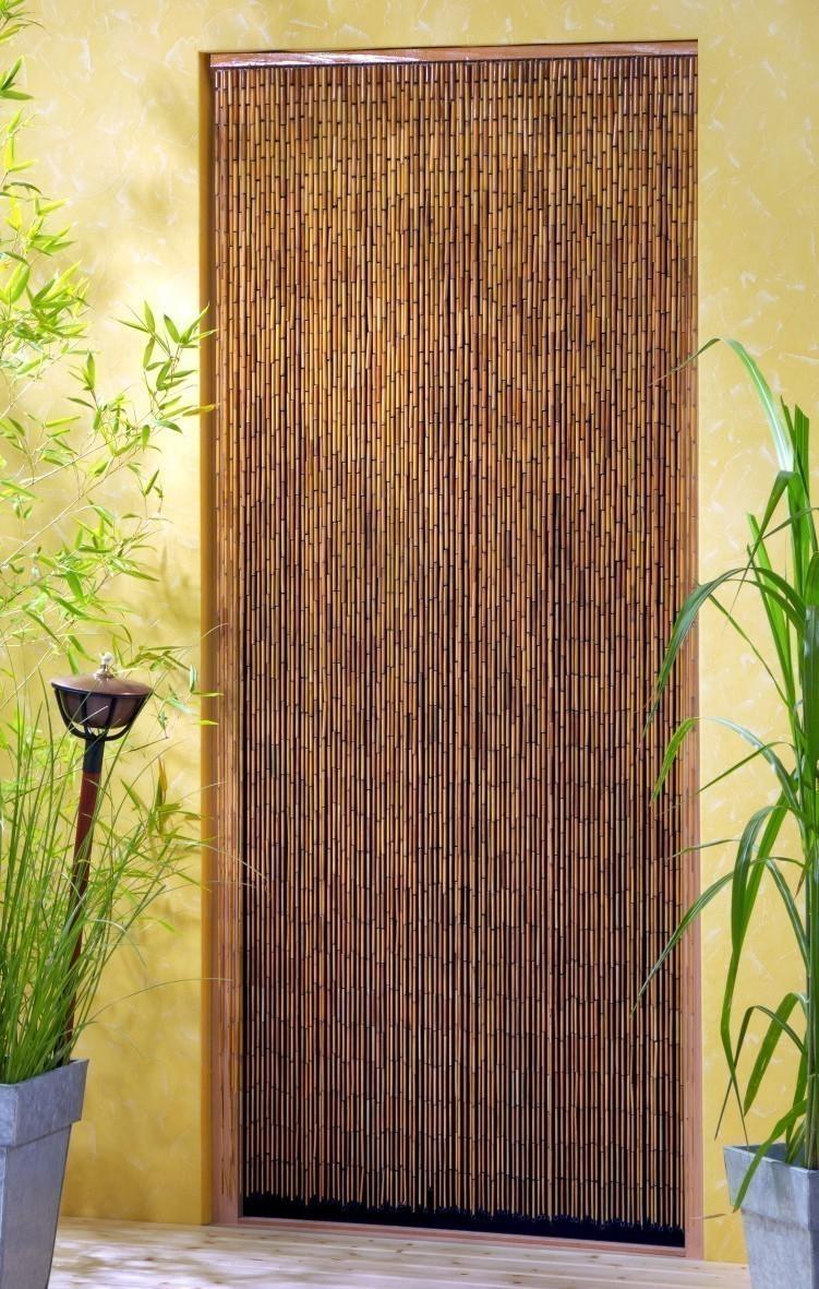 vorhang deko vorhang saigon bambusst bchen l nge 200cm bei. Black Bedroom Furniture Sets. Home Design Ideas