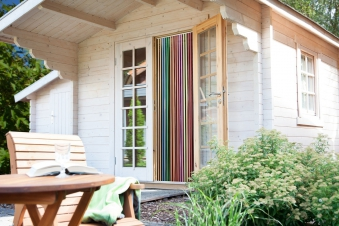 Vorhang / Streifenvorhang Conacord Multicolor Länge 200cm Bild 2