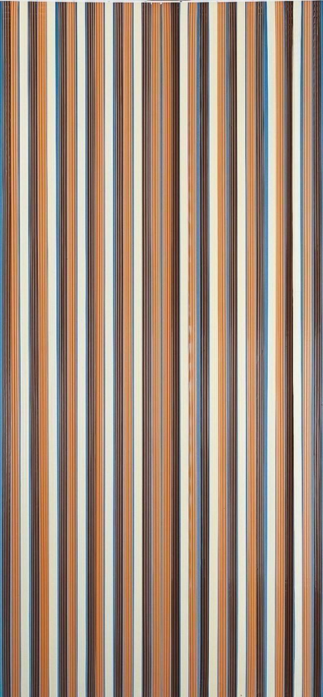 Vorhang / Streifenvorhang Conacord braun-beige Länge 200cm Bild 1