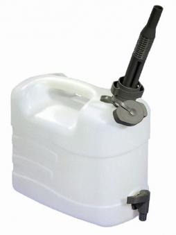 Wasserkanister mit Ausgießer und Ablasshahn 10 l Bild 1