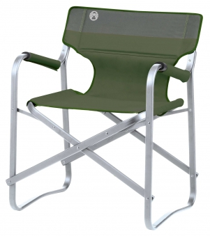 Campingstuhl / Klappstuhl Coleman Deck Chair Alu grün Bild 1