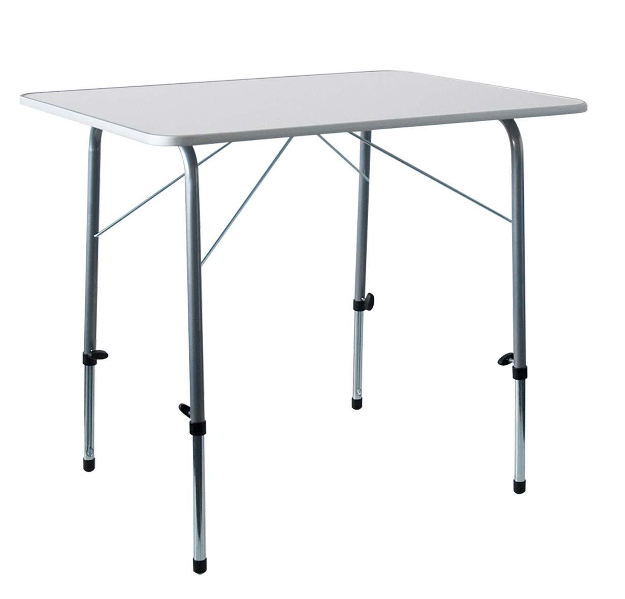 campingtisch klappbar stahl 120x60x50 70cm wei bei. Black Bedroom Furniture Sets. Home Design Ideas