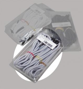 Sungörl Ersatzschnur / Gummischnur für OASI Relaxsessel 6er-Set grau