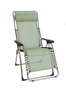 Sungörl Relaxsessel / Relaxliege Oasi Relax Menta XL Aluminium silber Bild 1