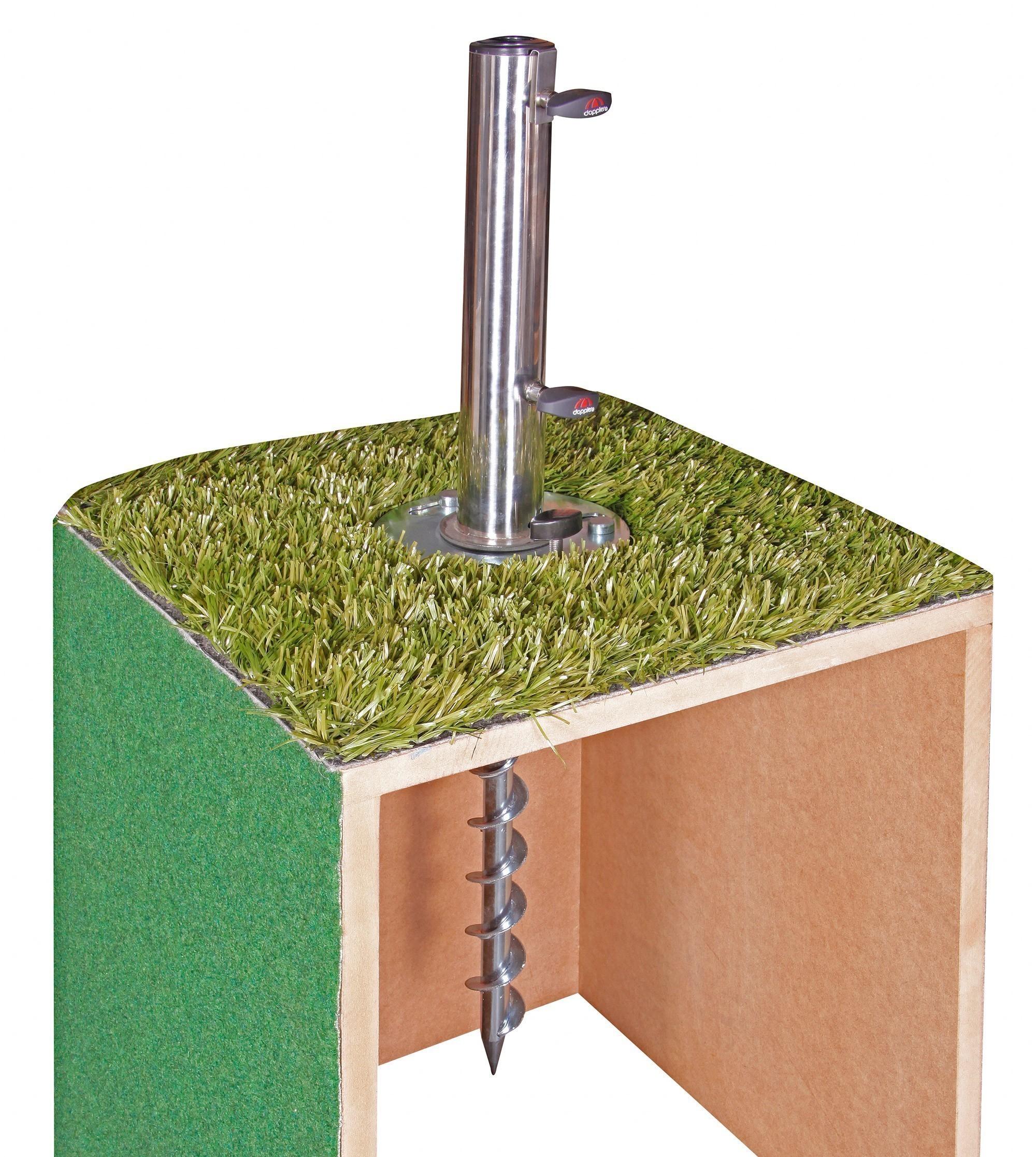Bodenanker Doppler Greenfield-Fix für Schirmstock Ø25-52 mm Bild 2