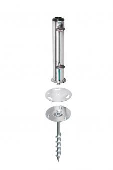 Bodenanker Doppler Greenfield-Fix für Schirmstock Ø25-52 mm Bild 1