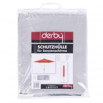 Derby Schutzhülle für Doppler Sonnenschirme bis Ø 350cm grau Bild 1