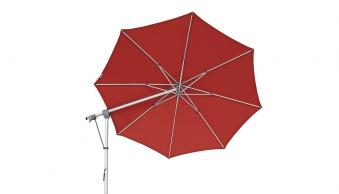 Doppler Ampelschirm / Pendelschirm Expert 350cm Des. T809 rot Bild 2
