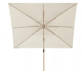 Doppler Pendelschirm Alu Wood 300x220cm Esche-Optik D. 820 natur Bild 4