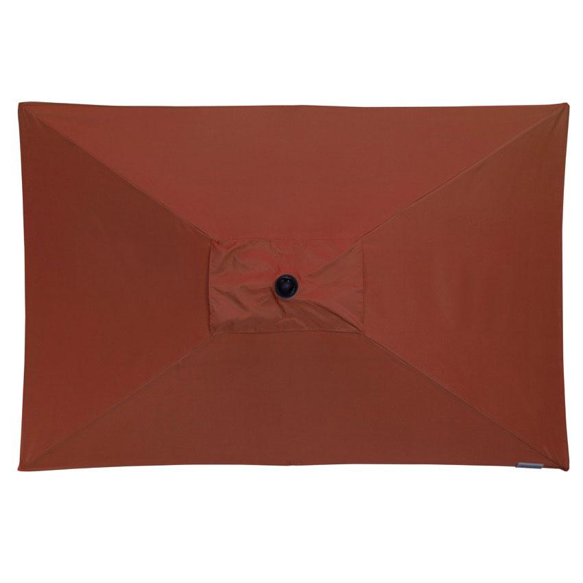 Doppler Sonnenschirm / Kurbelschirm Active auto tilt 210x140cm terra Bild 2