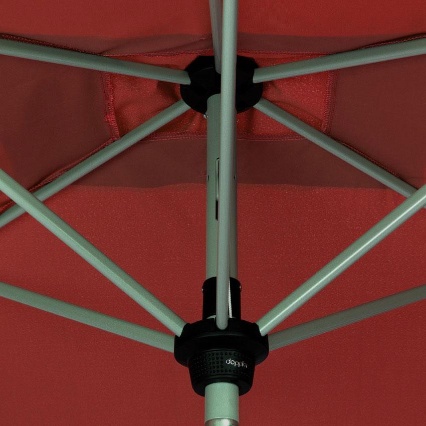 Doppler Sonnenschirm / Kurbelschirm Active auto tilt 210x140cm terra Bild 6