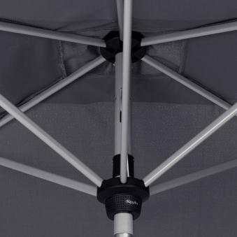 Doppler Sonnenschirm / Kurbelschirm Active auto tilt 300x200cm anthr. Bild 7
