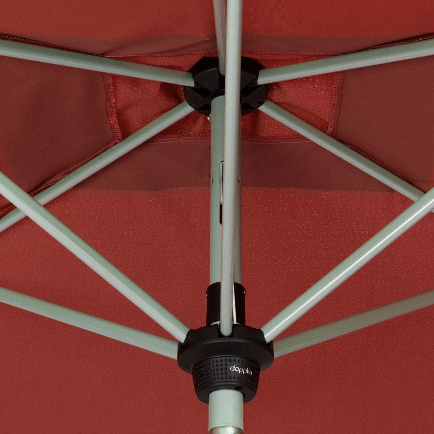 Doppler Sonnenschirm / Kurbelschirm Active auto tilt 300x200cm terra Bild 6