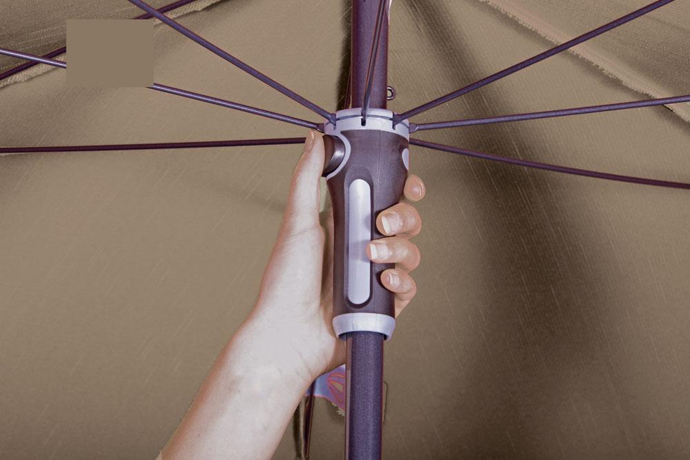 Sonnenschirm Marktschirm Doppler Sunline Waterproof III 260x150cm D846 Bild 4