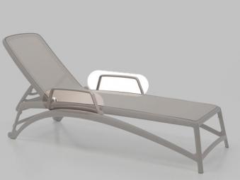 Armlehnen Set für Nardi Sonnenliege Atlantico taupe Bild 1