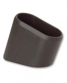 MWH Fußkappe 10101203 oval 30 x 14,5 mm schwarz Sessel Balero hinten Bild 1