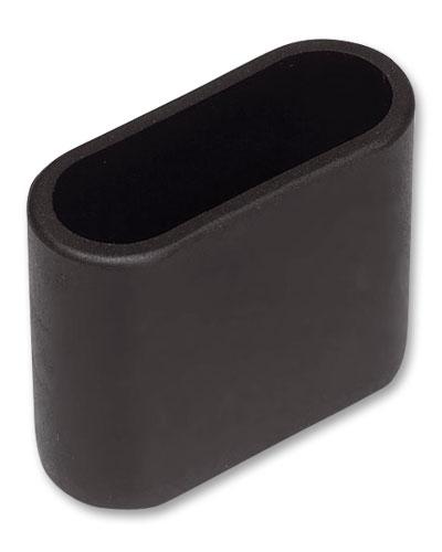 MWH Fußkappe 902-414 oval 40x14mm schwarz Serie Chateau/Savoy/Onero Bild 1