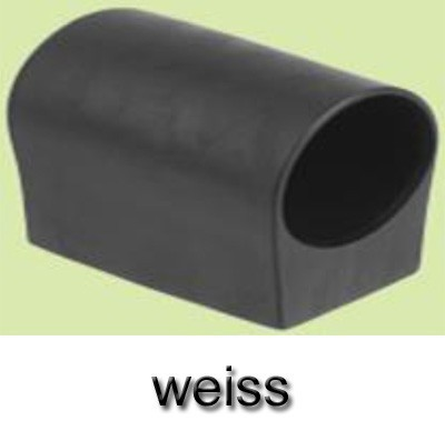MWH Fußkappe / Bodengleiter Gartentisch rund Ø 32 mm weiß Bild 1