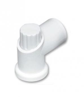 MWH Fußkappe / Bodengleiter Gartentisch rund Ø 35 mm verstellbar weiß Bild 1