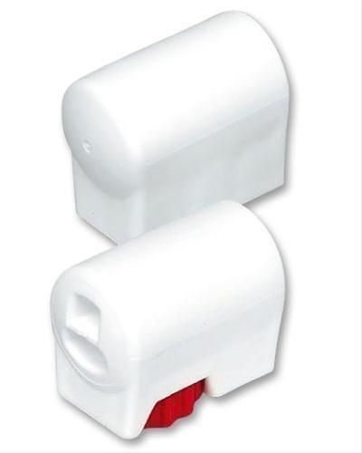 MWH Fußkappe / Bodengleiter Gartentisch rund Ø38mm verstellbar weiß Bild 1