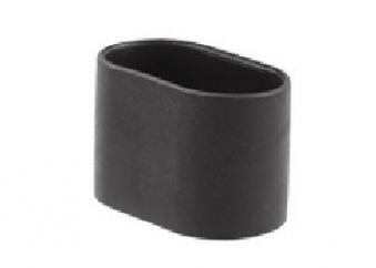 MWH Fußkappe oval 35x20mm schwarz Serie Chalet hinten Bild 1