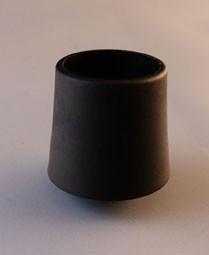 MWH Fußkappe rund Ø 20 mm schwarz Bild 1