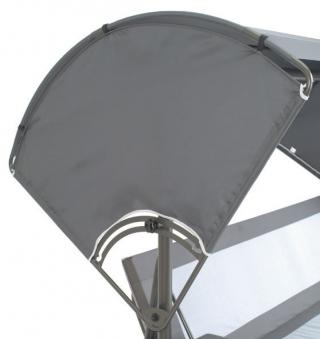 windschutz f r acamp liegeschaukel star anthrazit bei. Black Bedroom Furniture Sets. Home Design Ideas