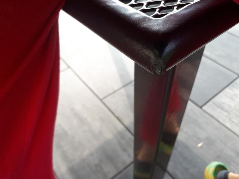 B-Ware TischToulouse 140/200x90x72cm Streckmetall ausziehbar eisengrau Bild 4
