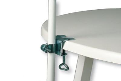 Sonnenschirmhalter Tischklammer für Schirmstöcke bis Ø25mm Bild 1
