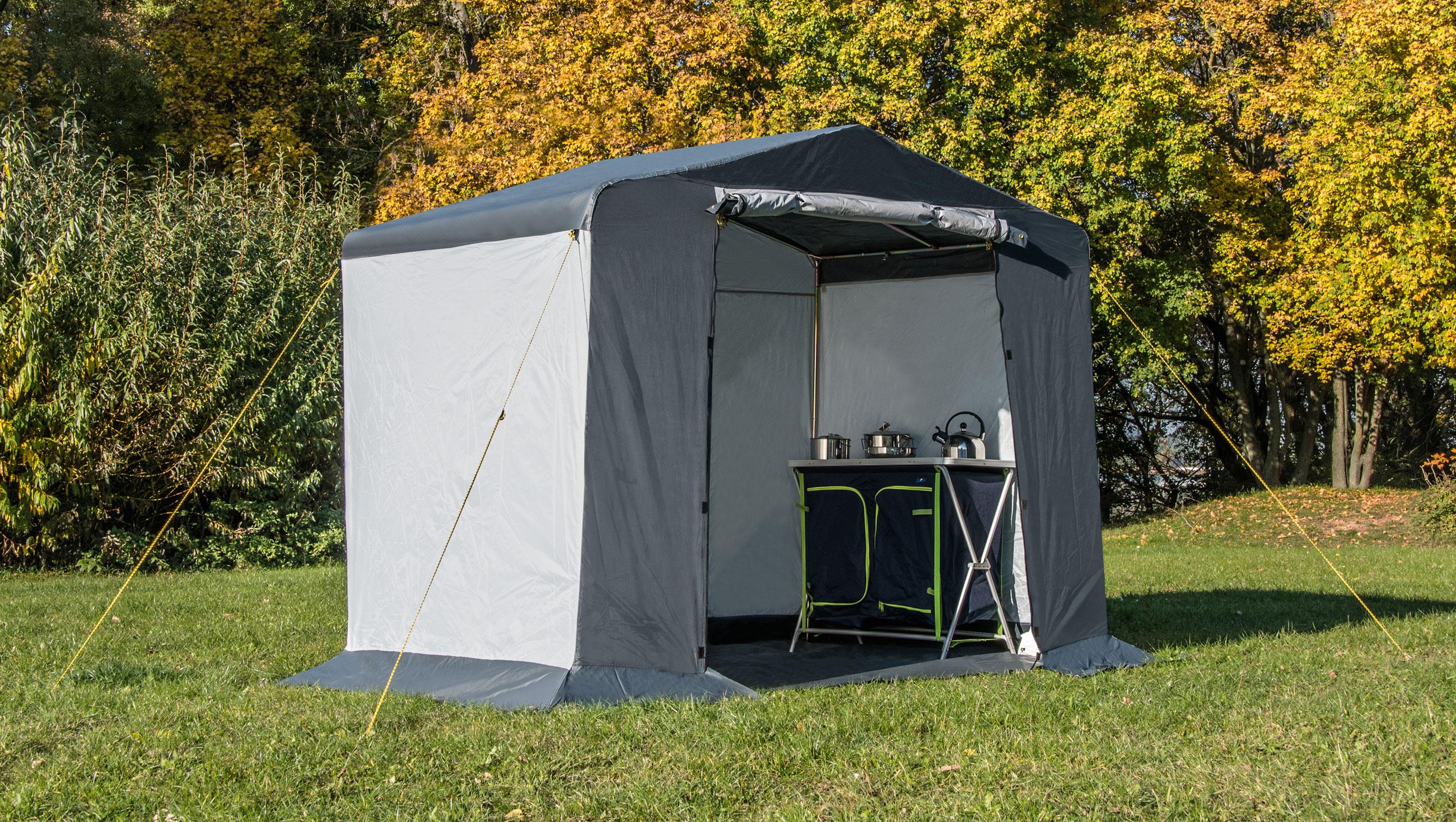 Zelt/ Gerätezelt Columbus Riva 240x160x205cm Bild 1