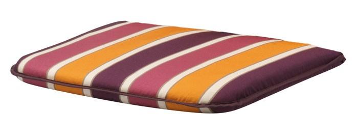 auflage f r monoblock gartenstuhl sitzkissen basic 40x42cm des 3007 bei. Black Bedroom Furniture Sets. Home Design Ideas