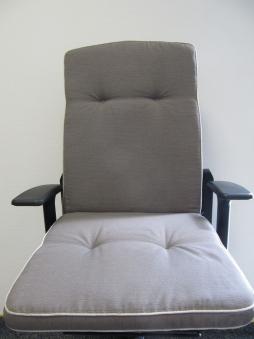 sun garden auflagen f r hochlehner sessel hoch in beige. Black Bedroom Furniture Sets. Home Design Ideas