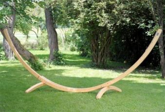 Hängemattengestell Holz Amazonas Arcus