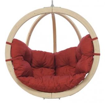 kinder h ngesessel amazonas kid 39 s globo kissen terracotta. Black Bedroom Furniture Sets. Home Design Ideas