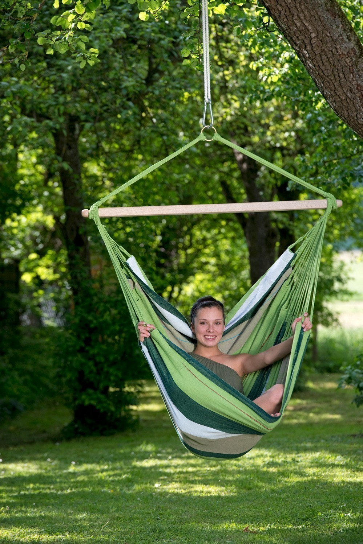 h ngesessel amazonas bogota oliva 180x130cm bei. Black Bedroom Furniture Sets. Home Design Ideas