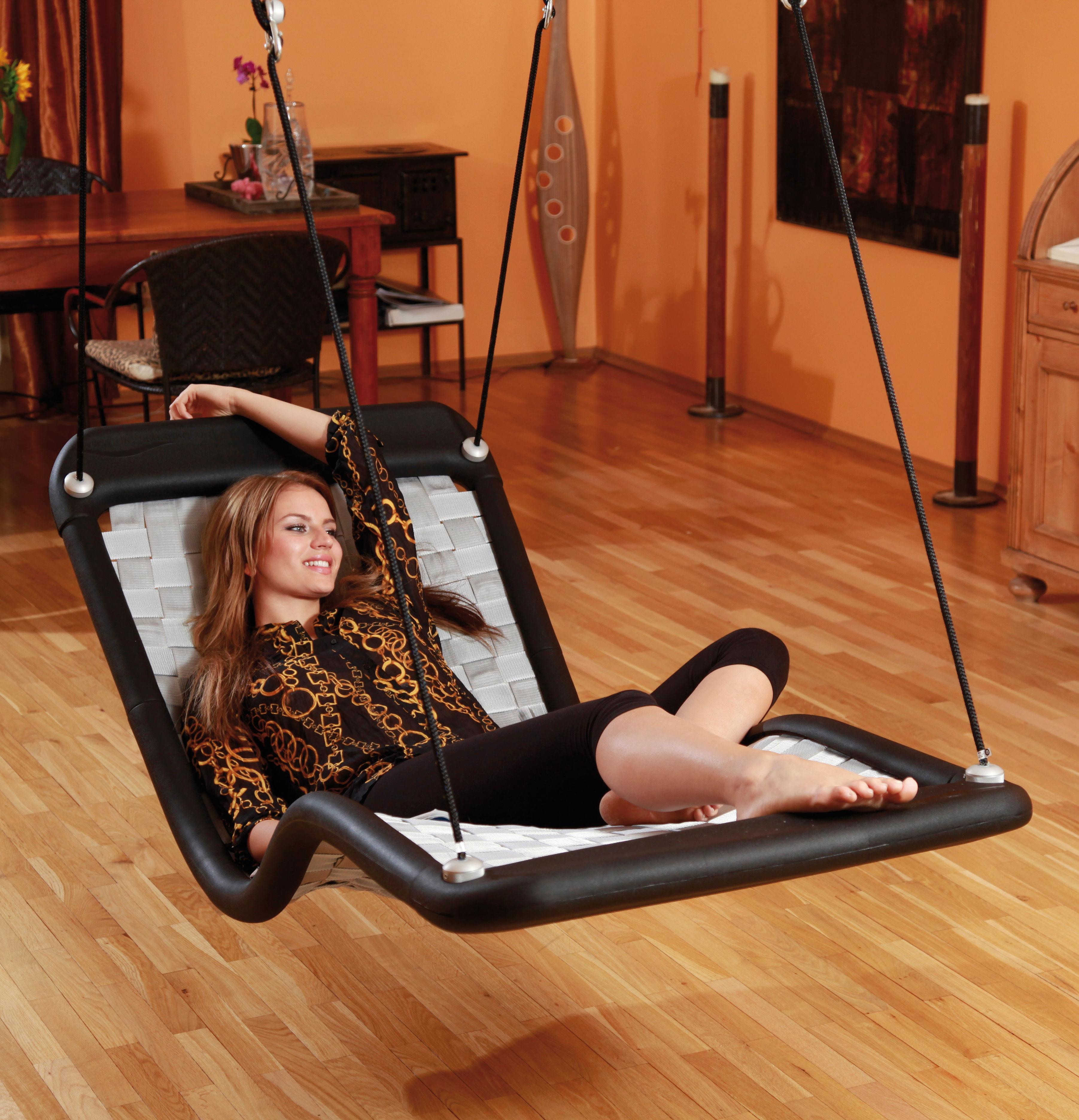 schaukel f r erwachsene dreamlinerplus xl schwarz. Black Bedroom Furniture Sets. Home Design Ideas